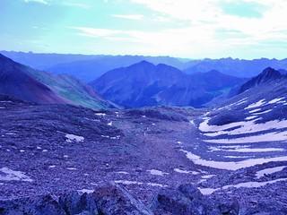 The North East Basin of Gladstone Peak