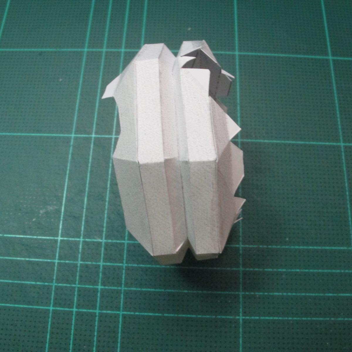 วิธีทำโมเดลกระดาษของเล่นคุกกี้รัน คุกกี้รสพ่อมด (Cookie Run Wizard Cookie Papercraft Model) 012