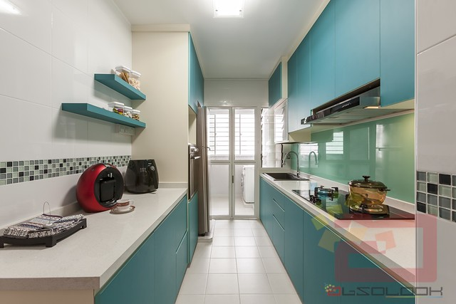 It more durable and it can be scrubbed of grease and cooking splatters more  easily  It can also protect moisture from soaking through. HDB BTO 4 Room   Yishun Greenwalk Blk 316C