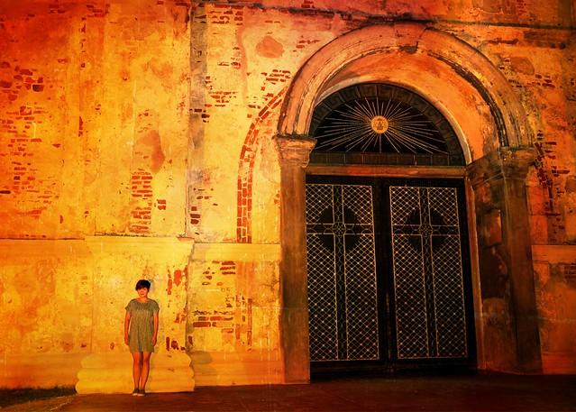 Paoay door
