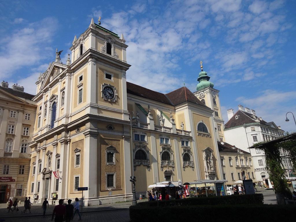 Wien, 1. Bezirk, Schottenkirche, letteralmente - la chiesa degli scozzesi, literalmente - la iglesia de los Escoceses, littéralement - l'église des écossais, literally - church of the Scots (Freyung - Barock), Freyung