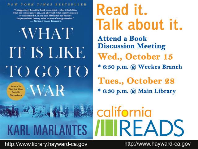 California Reads - Discuss
