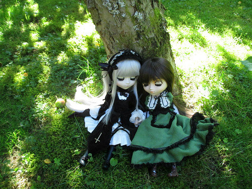 Peaceful day ~ Suigintou & Suiseiseki