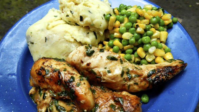Tarragon Chicken in the Woods 11