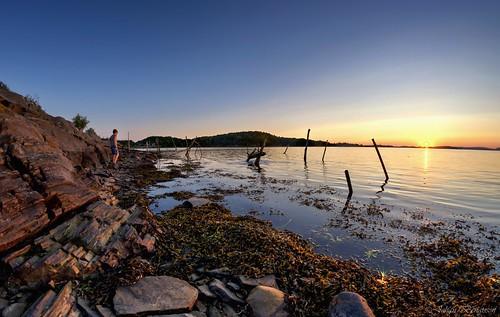 sea rock strand nikon shore hdr hav västkusten kungälv klippor samyang