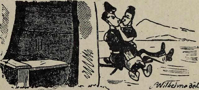 """Image from page 18 of """"Images galantes et esprit de l'etranger: Berlin, Munich, Vienne, Turin, Londres"""" (1905)"""
