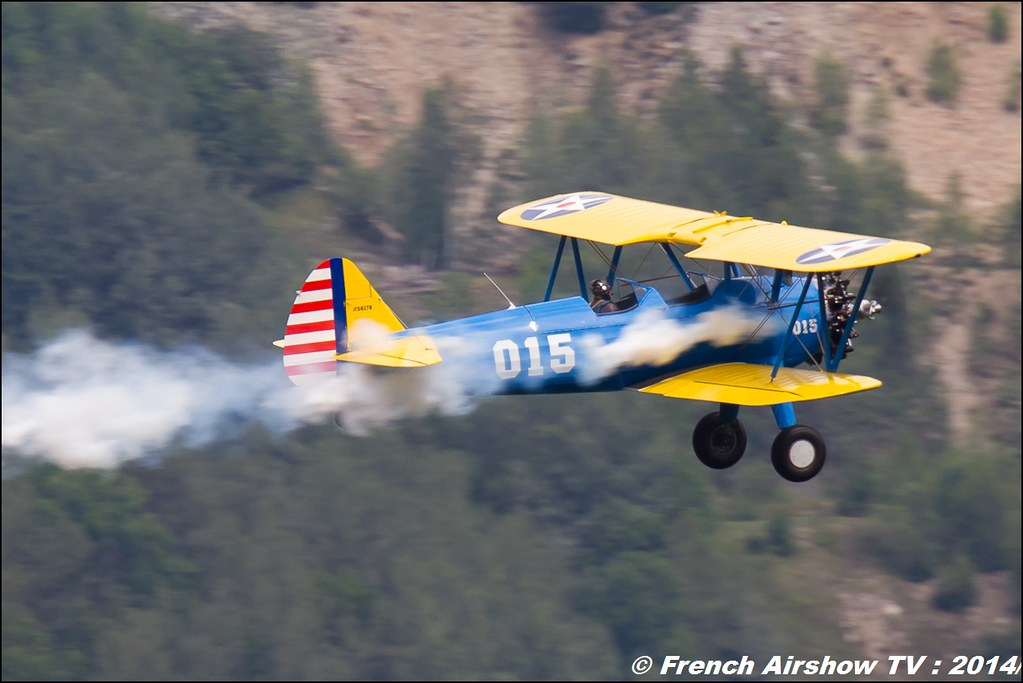 PT-17 Stearman Roanne jacque Aboulin courchevel 2014
