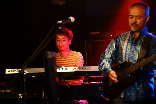 CABU live at 獅子王, Tokyo, 27 Jul 2014. 036