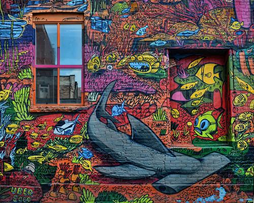 Queen Street West - Flickr Global Photo Walk, August 2nd   - Theme: Street Art.