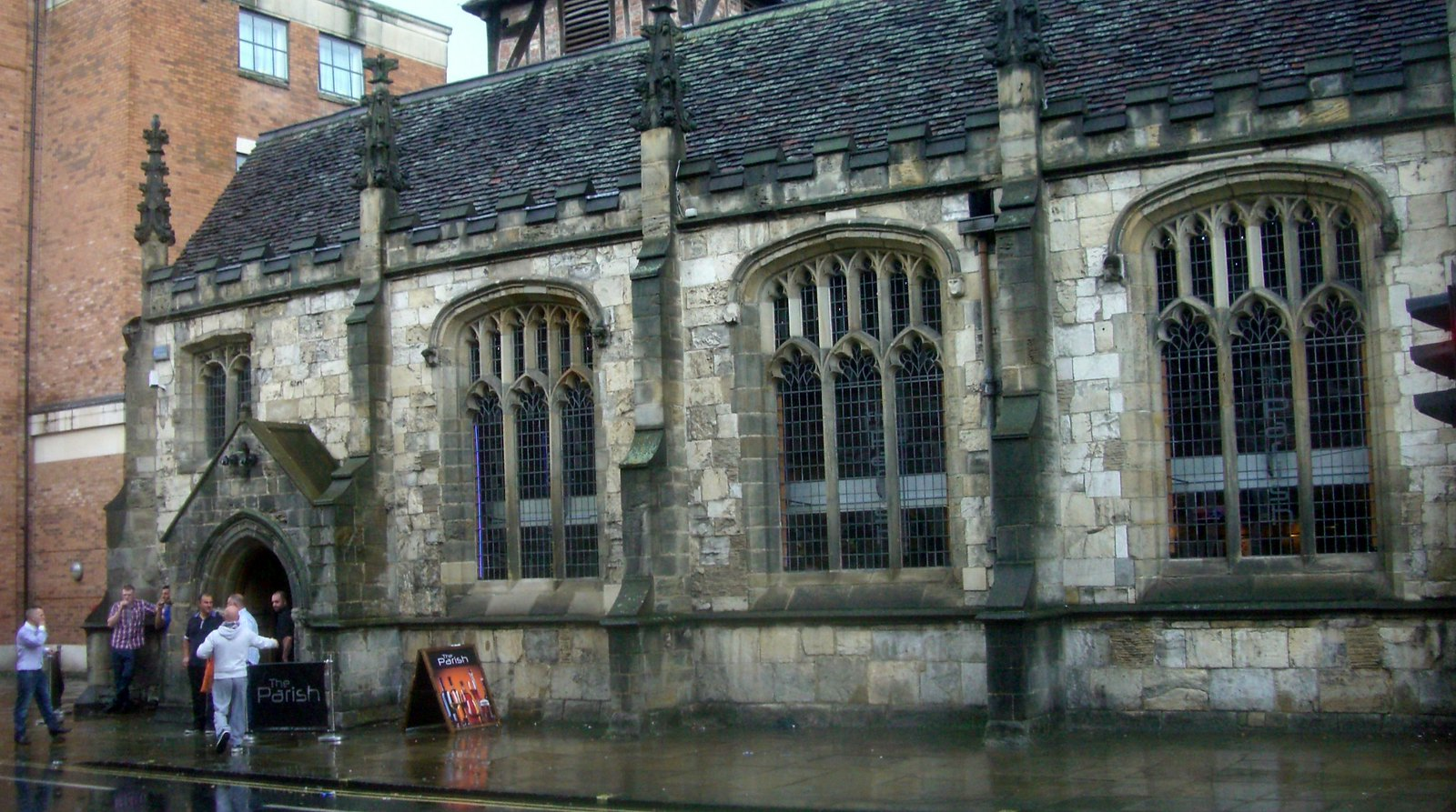 York converted church to a bar