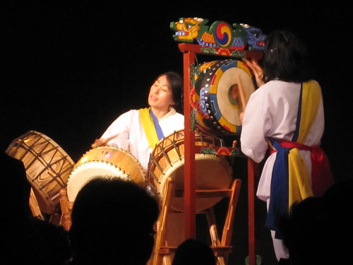 Female Korean Drummer