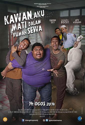 Poster Kawan Aku Mati Dlm Rumah Sewa