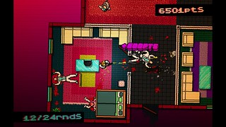 Hotline Miami on PS4