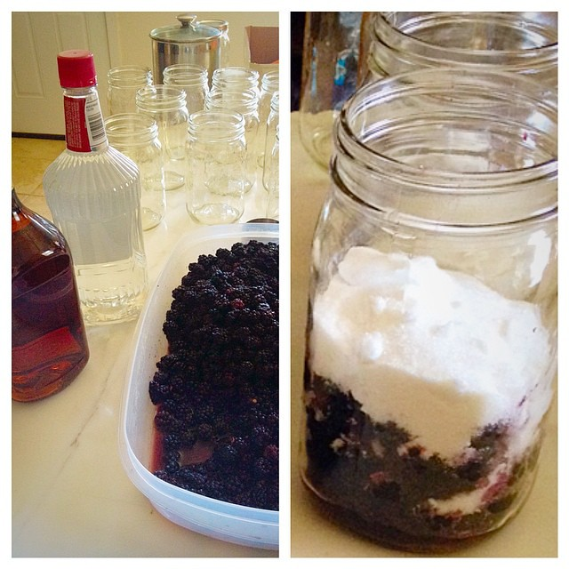 The famous blackberry liquor is finally making another appearance this year!