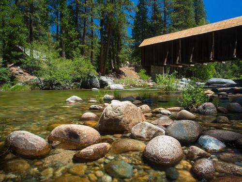 california longexposure bridge water architecture bluesky olympus yosemite yosemitenationalpark omd wawona em5 1250mmf3563mzuiko