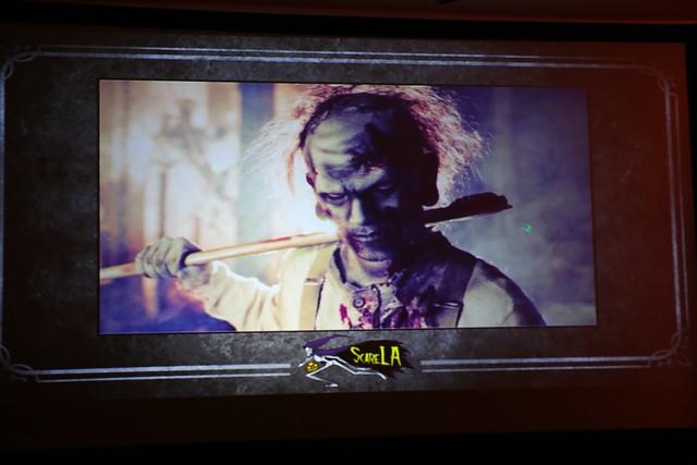 Making Monsters at ScareLA 2014