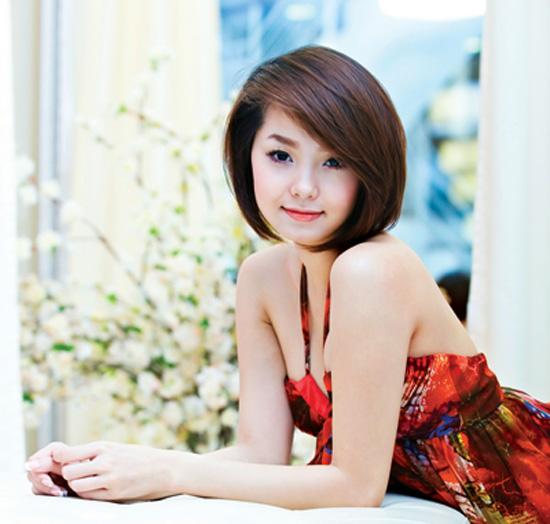 Các kiểu tóc ngắn đẹp! Tóc ngắn ép, uốn xoăn Hàn Quốc 28