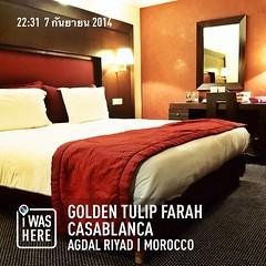 #travelprothai #instaplaceapp #place #earth #world  #morocco #MA #agdalriyad #goldentulipfarahcasablanca #street #night #morocco