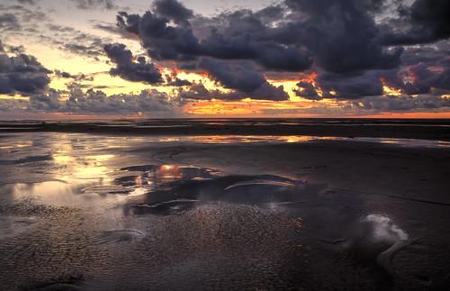 uk greatbritain sea england landscape tide august wirral irishsea hoylake krajobraz sierpień wielkabrytania odpływ pregamewinner lukaszlukomski