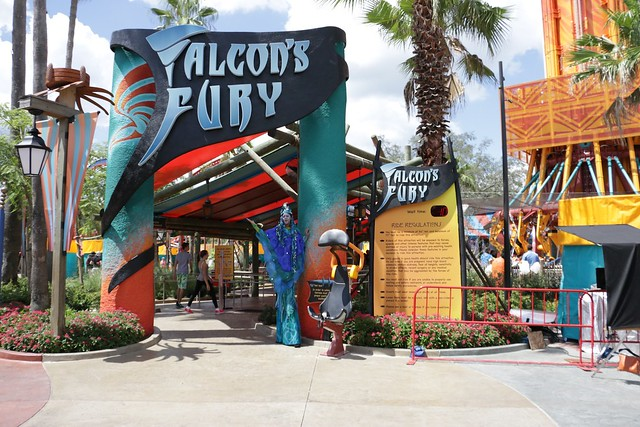 Up Close With Falcon 39 S Fury As Busch Gardens Tampa Brings Big Thrills With Huge New Ride
