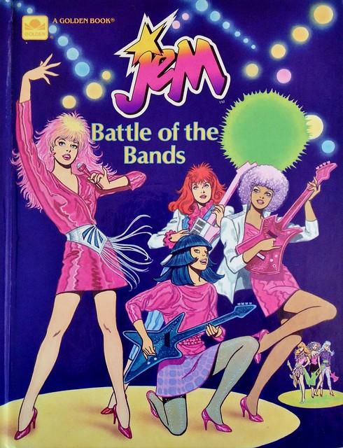 1986 Jem: Battle of the Bands Book Illustration