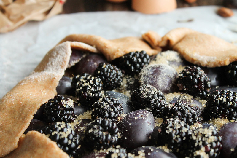 rustieke taart recept met pruimen