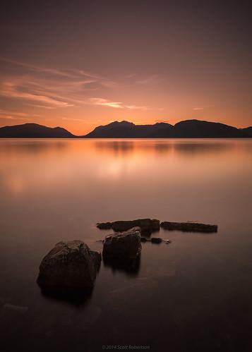longexposure sunset bw scotland westcoast tranquil lochaber lochlinnhe kentallen onich duror scottishlochs leefilters nikond600