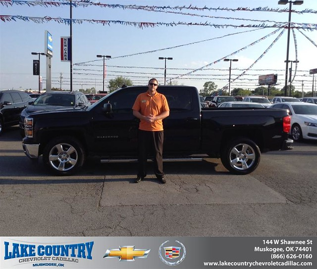 Tulsa Chevy Dealers: Congratulations To Caleb Turner On Your New Car Purchase