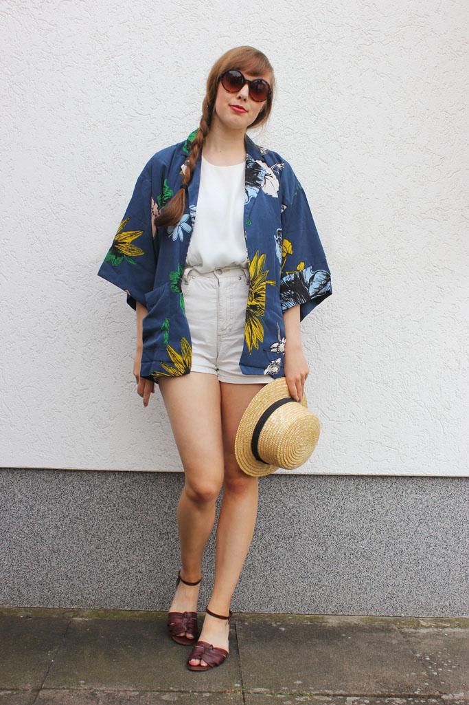 Floral kimono oasap - how to style a kimono fashionblogger look