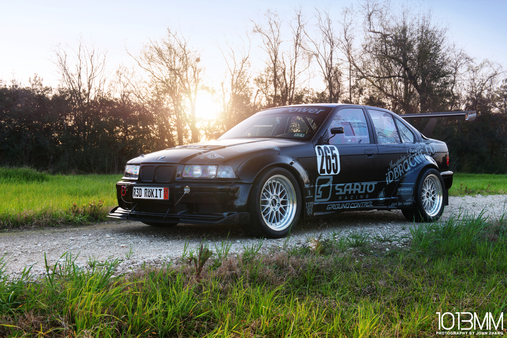 Wil Kitchens' E36 M3 Pikes Peak Race Car
