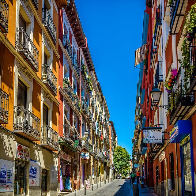Por los cielos de madrid 93 calle en el barrio de for Calle prado 8 madrid