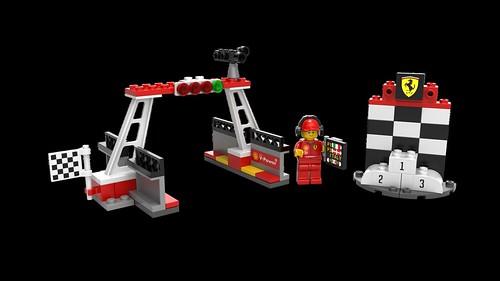 LEGO Shell Finish Line & Podium