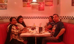 Random at american diner, New Delhi. #plbkkt via #hshdsh