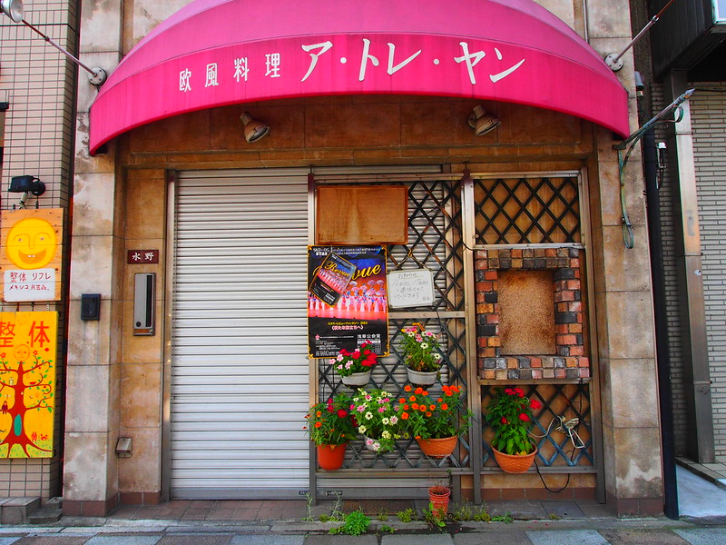 When I walked around Asakusa: A Bar with Plants