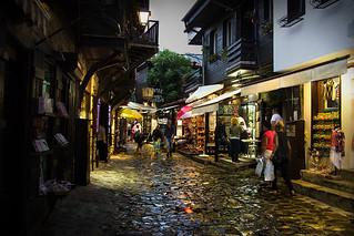 Alley in Nessebar