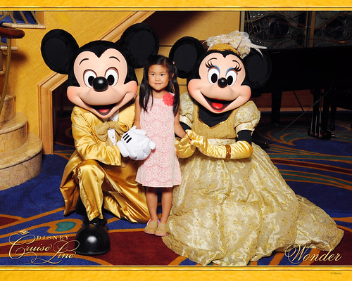 Golden Mickey and Minnie