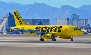 "N534NK Spirit Airlines 2008 Airbus A319-132  (cn 3395) ""Home of the BARE FARE"" 