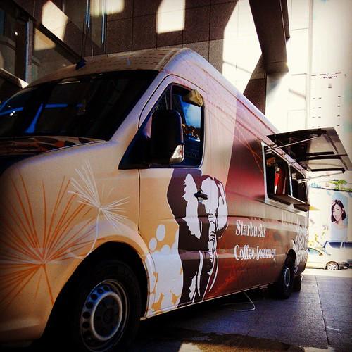 #STARBUCKS #星巴克行動咖啡車 #星巴克
