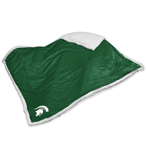 Michigan State Spartans NCAA Sherpa Blanket