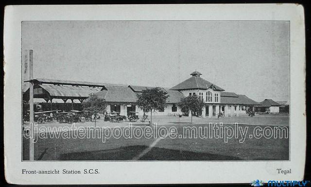 Stasiun Tegal 1980