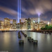 9-11 - Tribute Lights, New York by JaveFoto