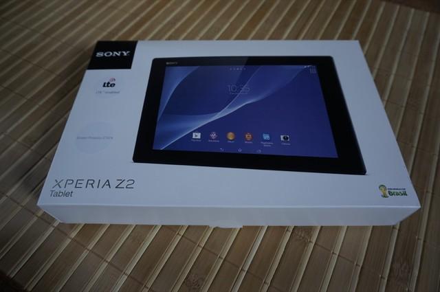 SONY XPERIA Z2 Tablet SIMフリー版! 開封!