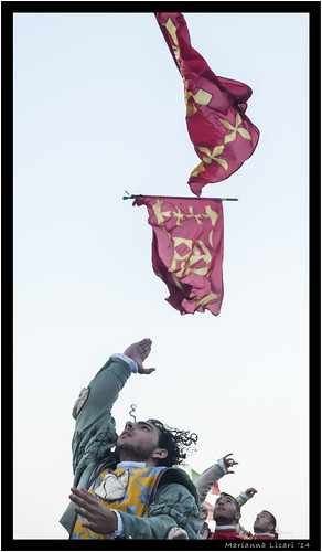 L'arte del maneggiar l'insegna/The art of flag throwing