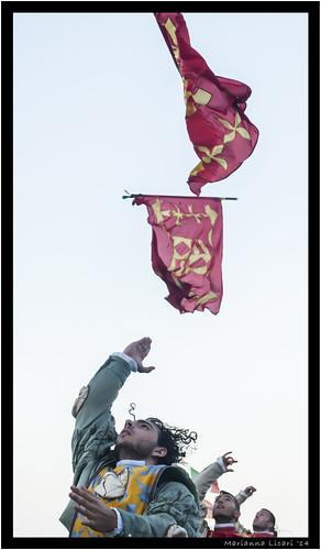L'arte del maneggiar l'insegna/The art of flag throwing