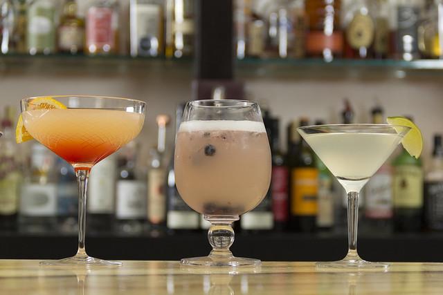 Nubar Cocktails in Didriks Glassware