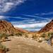 Joshua Tree National Park, Mystery Canyon, Chemtrails by darthjenni