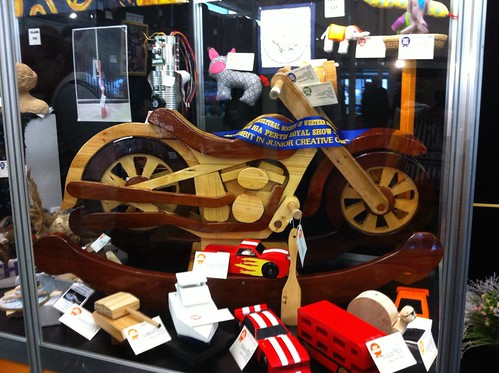Perth Royal Show 2014: Woodcarving