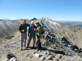 Thumbs up for Peak 10 Summit