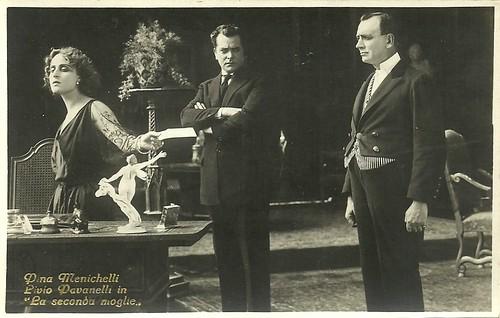 Pina Menichelli and Livio Pavanelli in La seconda moglie