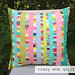 scrappy ribbon pillow 1 by crazymomquilts